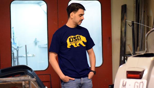 Camiseta El Oso classic azul