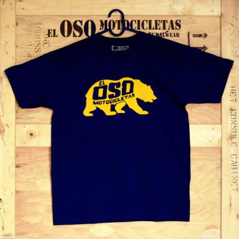 Camiseta Oso Classic azul marino