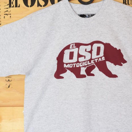 Camiseta El Oso Classic en gris