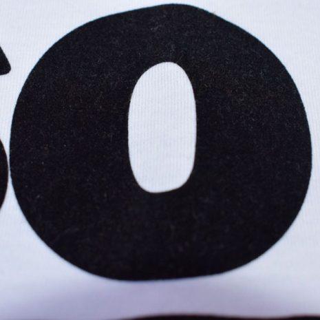 Letras contrastadas camiseta ELOSO customs