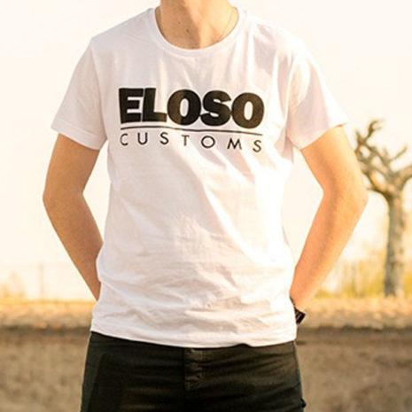 Camiseta blanca El Oso Customs