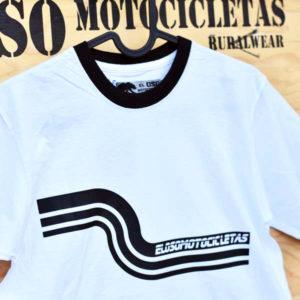 Dibujo camiseta Riberafornia El Oso Motocicletas