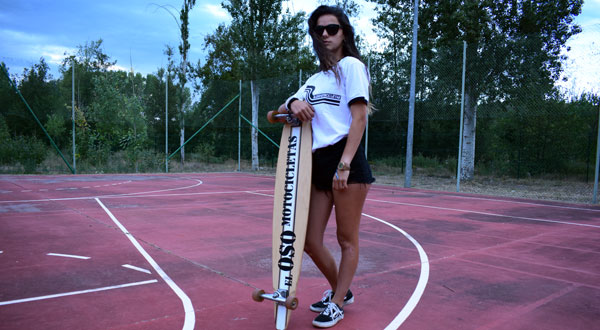 Camiseta blanca Riberafornia para chica