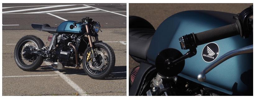 Fotos moto tuneada Honda CX650 El Oso Motocicletas
