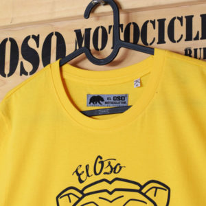 Camiseta Big Head El Oso Motocicletas