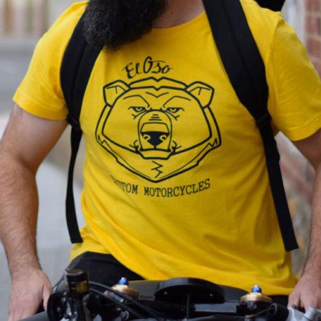 Camiseta amarilla Big Head