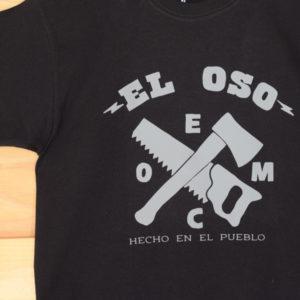 Camiseta El Oso hecho en el pueblo