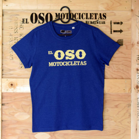 Camiseta Oso Oeste azul