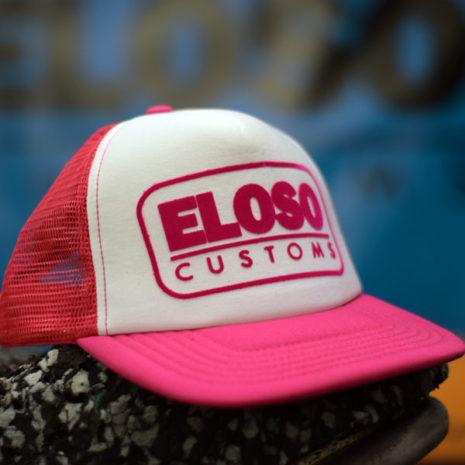 Gorra trucker de El Oso color rosa