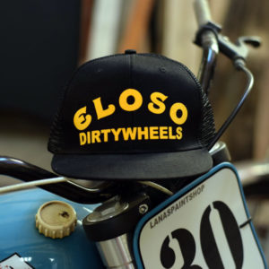 Gorra negra Dirty Wheels El Oso