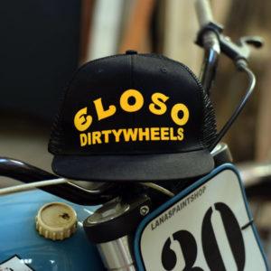 Gorra negra Dirty Wheels El Oso