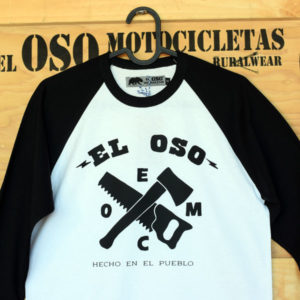 Camiseta de baseball con manga larga de El Oso