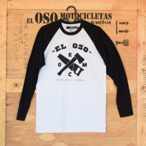 Camiseta manga larga baseball El Oso