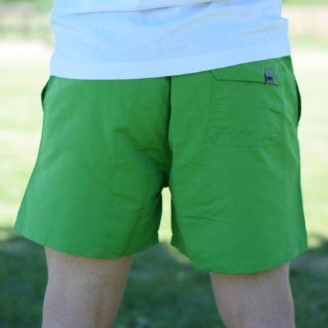 Bañador verde para chico El Oso trasero